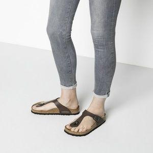 Birkenstock Gizeh Thong Tobacco Brown Sandals. Exc